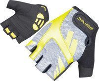 Перчатки для фитнеса SportVida SV-AG00033 Black/Yellow