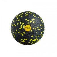 Массажный мяч 4FIZJO EPP BALL 8 см 4FJ0056 Black/Yellow